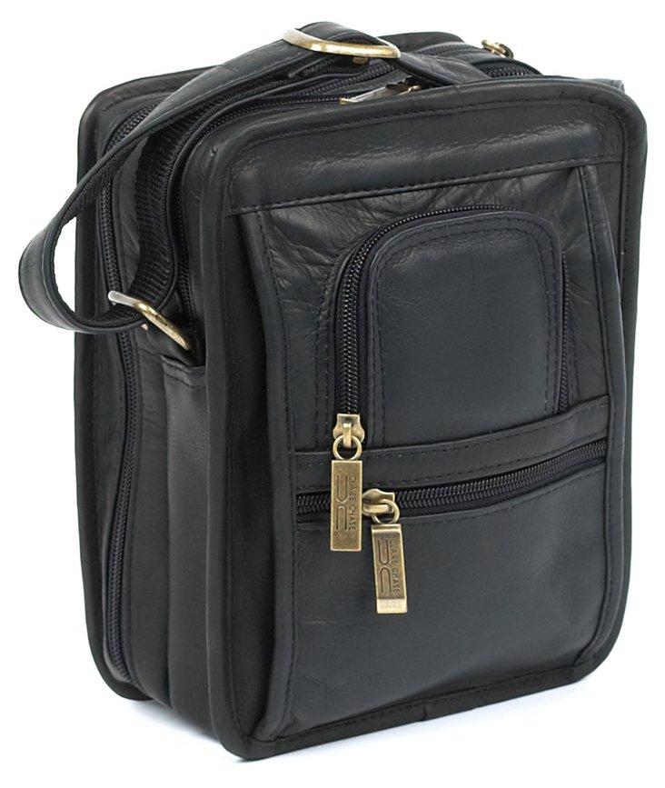 Leather Ultimate Man Bag, Black