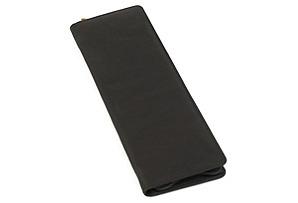 Leather Tie Holder, Black