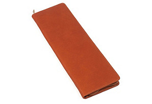 Leather Tie Holder, Saddle