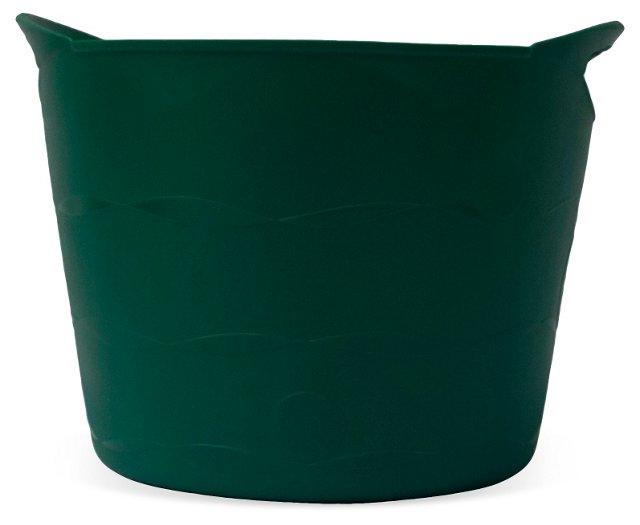 "S/2 14"" Flexible Buckets, Green"