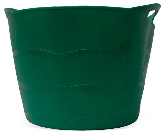"19"" Flexible Bucket, Green"