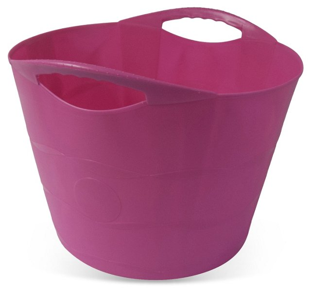 "19"" Flexible Bucket, Fuchsia"