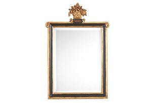 Kingstree Wall Mirror, Black/Gold*