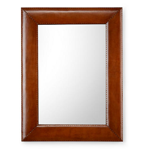 Bowie Wall Mirror, Brown