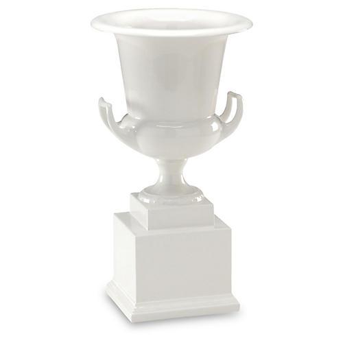 """16"""" Classic Vase, White"""