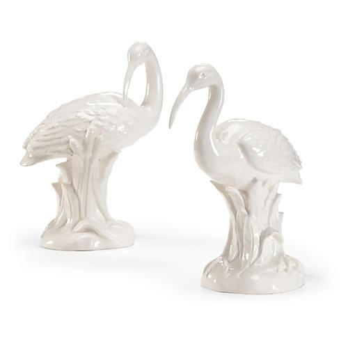 S/2 Ibis Figures, White