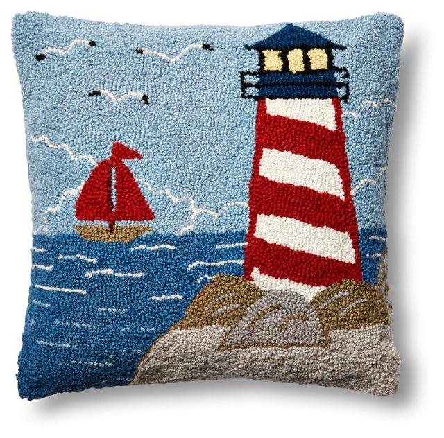 Light Tower 16x16 Wool Pillow