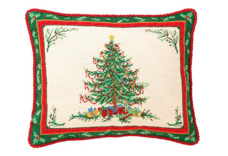 Christmas Tree 16x20 Pillow, Multi