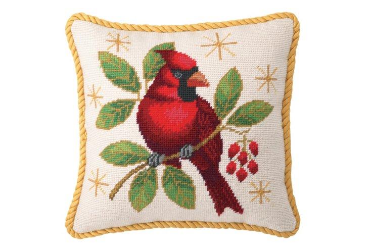 Cardinal 12x12 Pillow, Multi