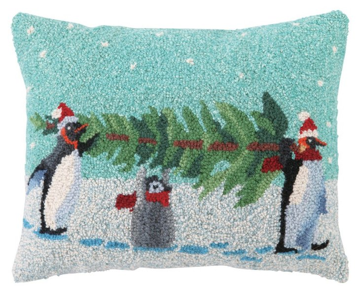Carry That Tree 16x20 Pillow, Multi