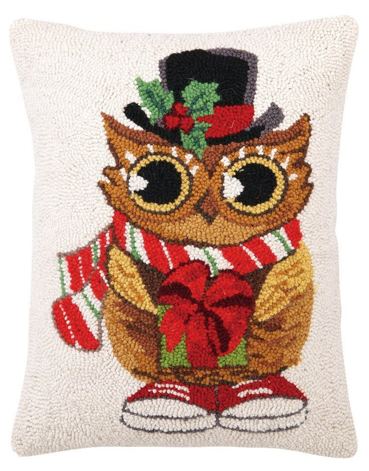 Owl 14x18 Pillow, Multi