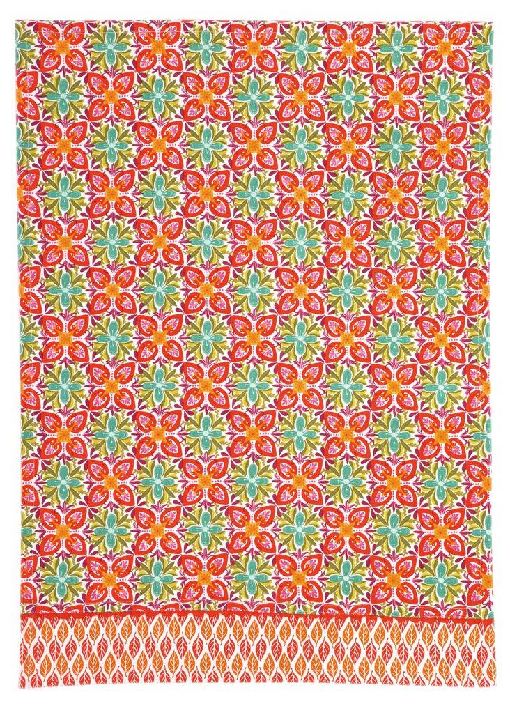 S/2 Terrain Kitchen Towels, Flowers
