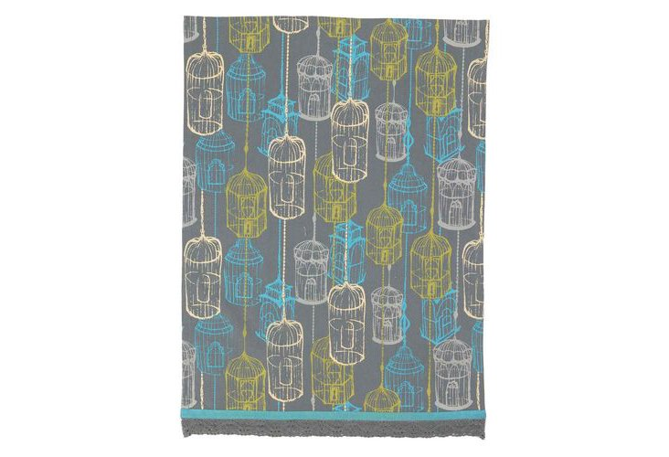 S/2 Birdcage Kitchen Towels