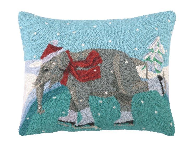 Elephant 16x20 Pillow, Multi