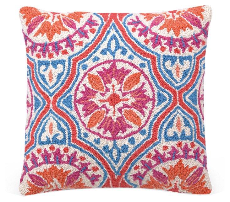 Amber 18x18 Pillow, Orange