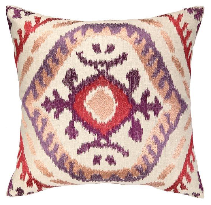 Kara 20x20 Cotton Pillow, Multi