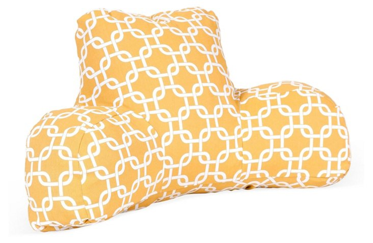 Linked Boyfriend Pillow, Yellow