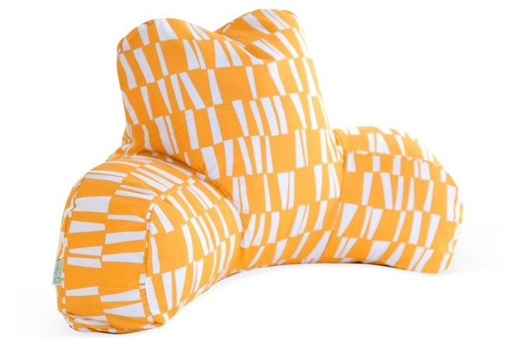 Checkered Boyfriend Pillow, Citrus