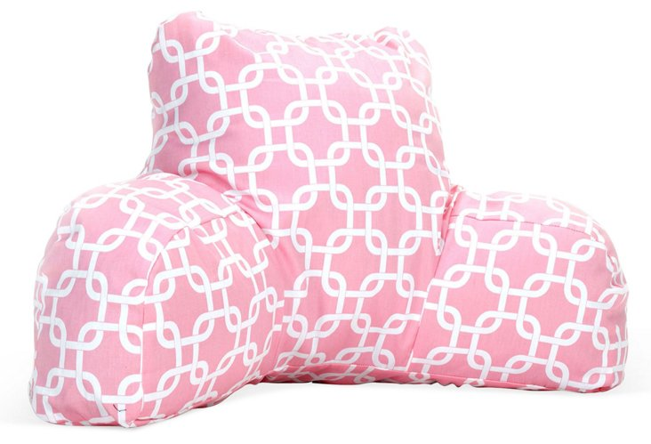 Links Boyfriend Pillow, Soft Pink