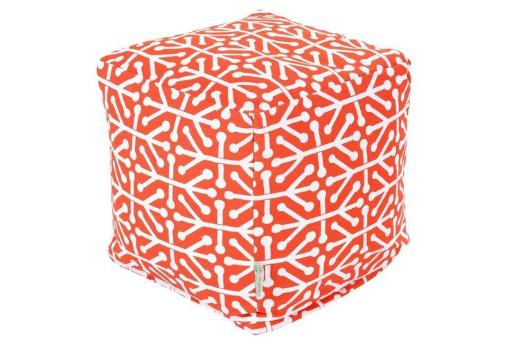 Jacks Outdoor Cube, Orange