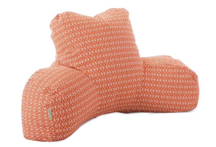 Geo Boyfriend Pillow, Orange