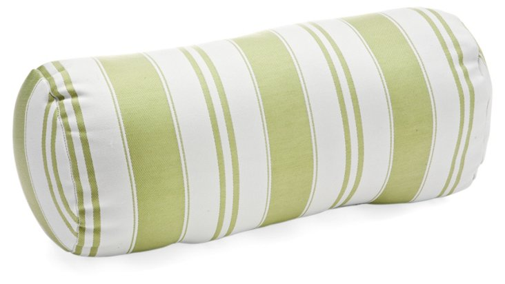 Havana 8x18 Bolster Pillow, Green