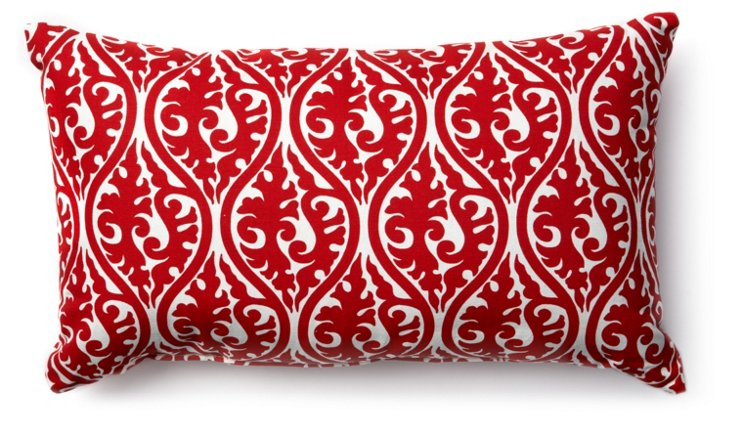 Helix 12x20 Pillow, Red