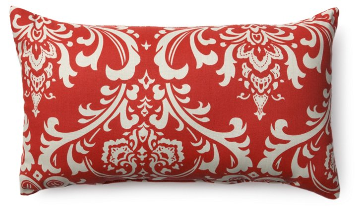 French Madie 12x20 Pillow, Red