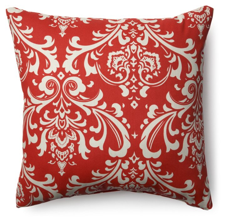 French Madie 20x20 Pillow, Red