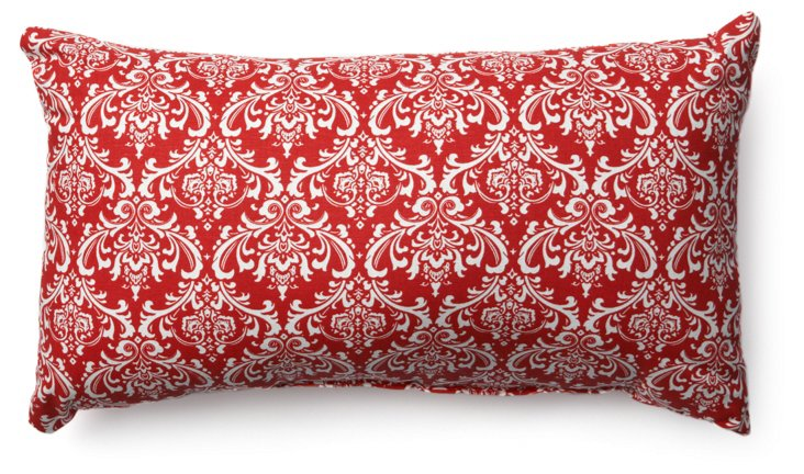 French Quarter 12x20 Pillow, Red