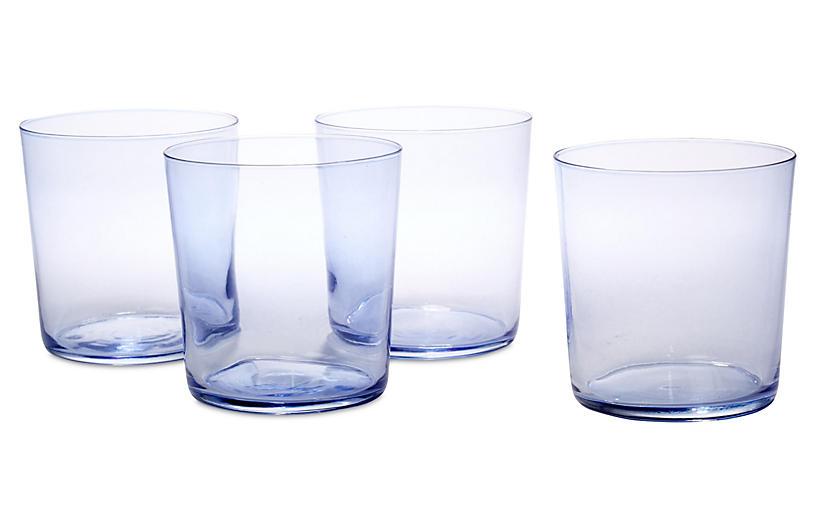 S/4 Cidra Juice Glasses, Orchid