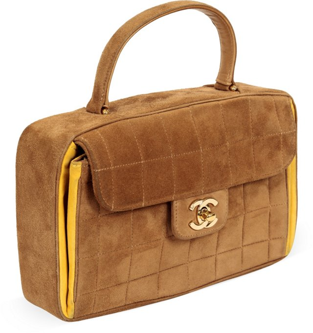 Chanel Suede Camel Day Tote