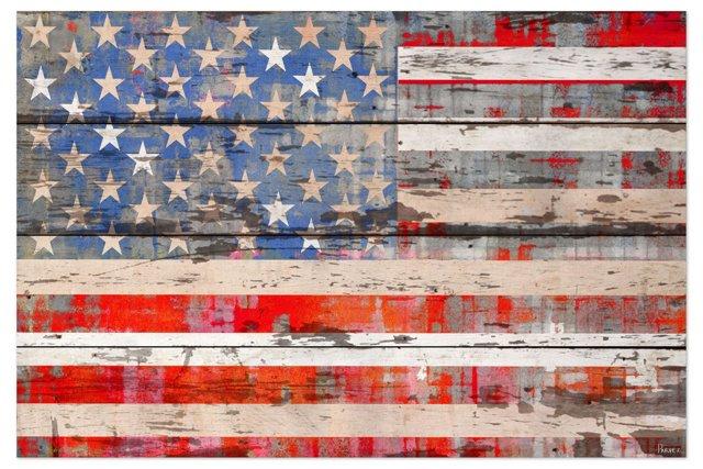 American Dream, reclaimed wood