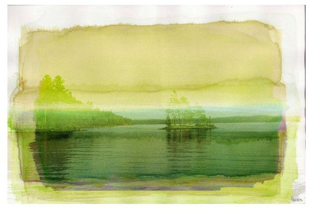 Electric Island, Canvas