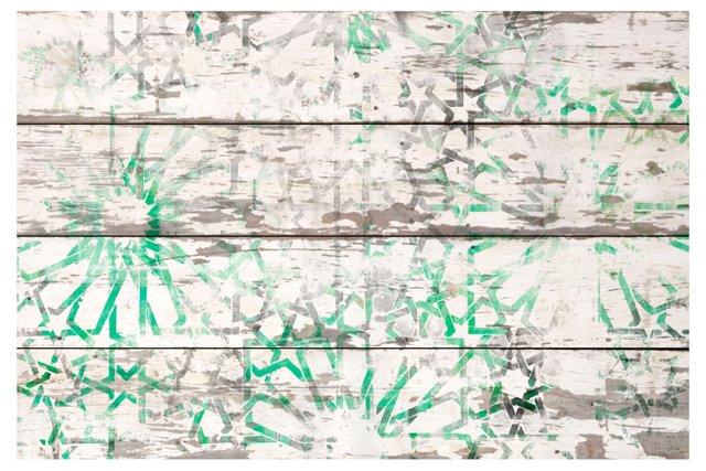Emerald, Reclaimed Wood