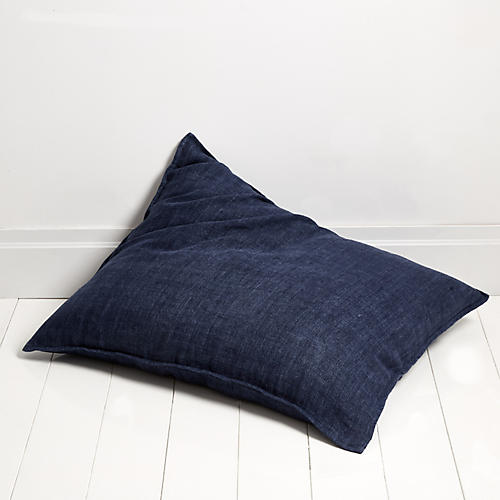 Montauk 28x36 Pillow, Indigo