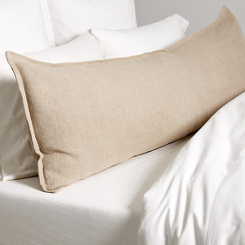 Montauk 18x60 Body Pillow, Natural