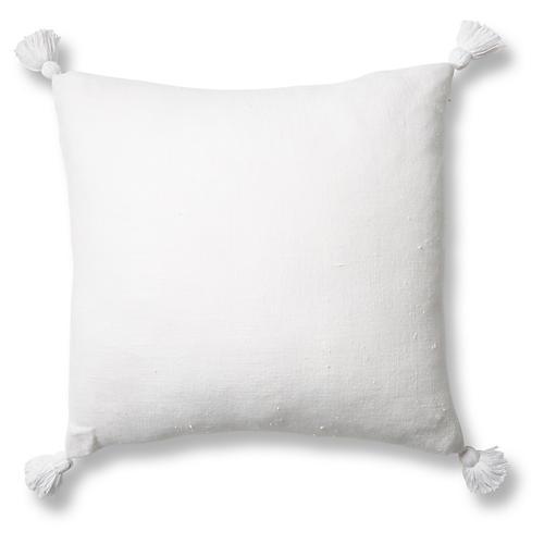 Montauk Sham, White Linen