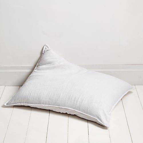 Montauk 28x36 Pillow, White