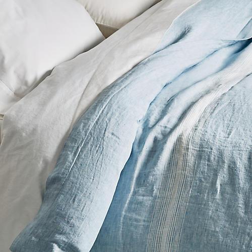 Harper Duvet, Blue