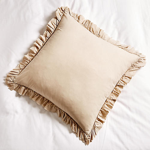 Madison Euro Sham, Taupe
