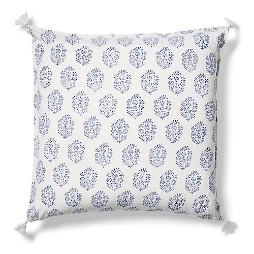 Fena 20x20 Pillow, Indigo