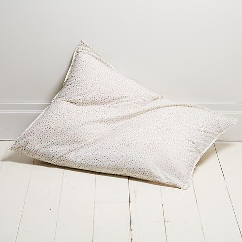 Dot 28x36 Pillow, Gold