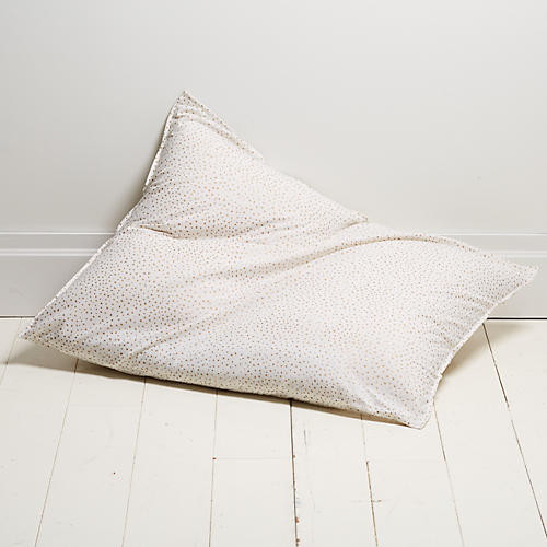 Dot 28x36 Pillow, Gold