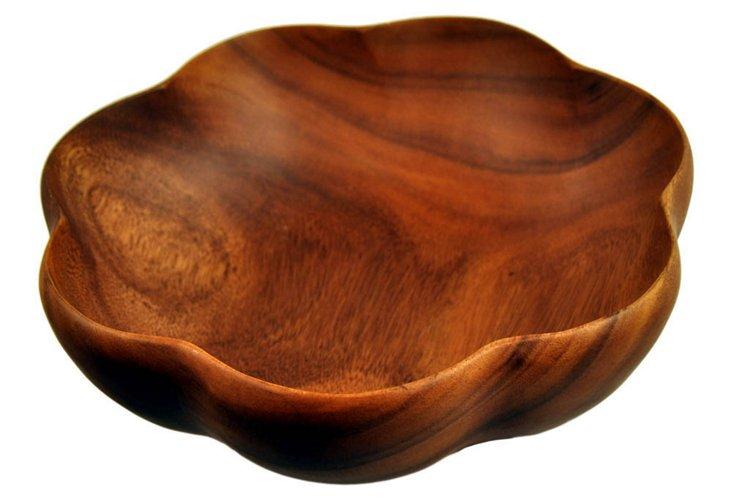 Acacia Flared Bowl