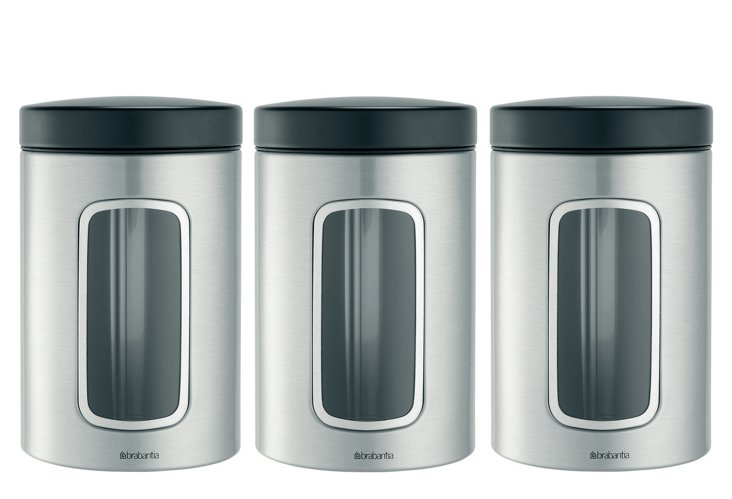 S/3 Window Canisters, 1.4L