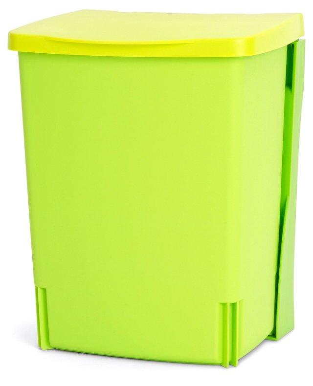 Wall-Mounted Storage Bin, Green