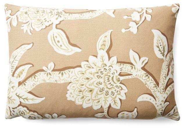 Branch 12x18 Cotton Pillow, Wheat