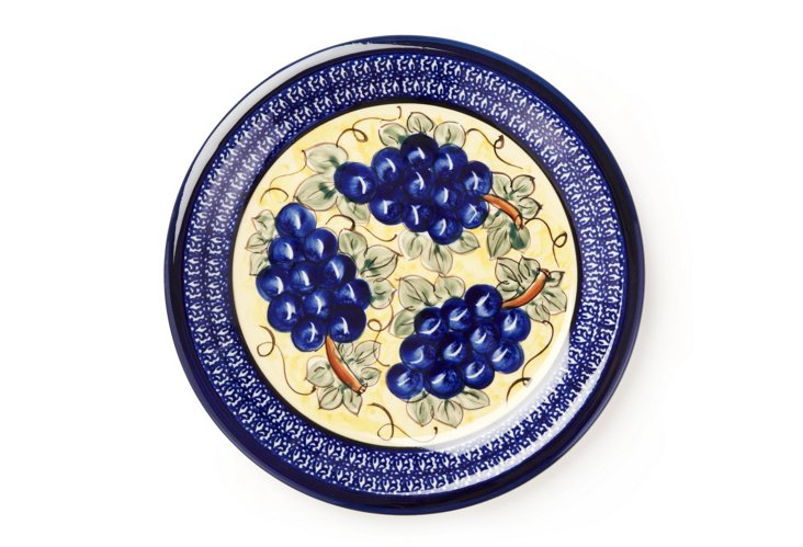 Dinner Plate, Grapes