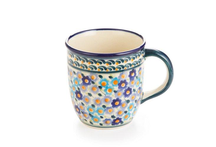 Handmade Mug, Multi Flowers
